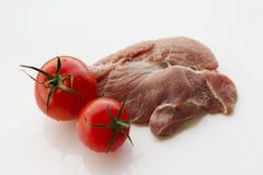 carne de vaca de la carne sin procesar Imagen de archivo libre de regalías