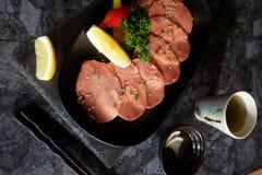Carne de vaca japonesa A5 de Wagyu Imagen de archivo libre de regalías