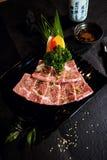 Carne de vaca japonesa A5 de Wagyu Fotografía de archivo