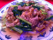 Carne de vaca Kway Teow Fotografía de archivo