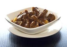 Carne de vaca malasia del curry Imagenes de archivo