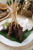 Carne de vaca Satay Foto de archivo