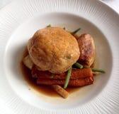 Carne de vaca Wellington Meal Foto de archivo libre de regalías