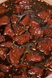 Carne de venado desigual Imagen de archivo libre de regalías