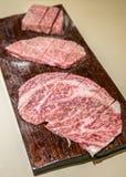 Carne de Wagyu A5 Imagem de Stock Royalty Free