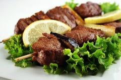 Carne de Yakitori Fotografia de Stock Royalty Free