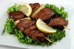Carne de Yakitori Imagem de Stock