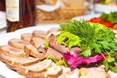 Carne del aperitivo Imagen de archivo