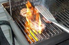 Carne del Bbq Immagine Stock Libera da Diritti