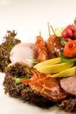 Carne del BBQ Fotografia Stock Libera da Diritti
