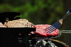 Carne del Bbq Fotos de archivo libres de regalías