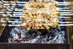 Carne del Bbq Parrilla al aire libre delicions de la parrilla de la barbacoa fotografía de archivo