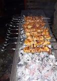 Carne del Bbq Parrilla al aire libre delicions de la parrilla de la barbacoa foto de archivo