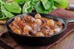 Carne del goulash Fotografia Stock Libera da Diritti
