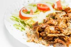 Carne del kebab Foto de archivo libre de regalías