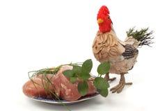 Carne del pollo Imágenes de archivo libres de regalías