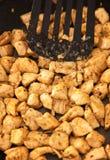 Carne del pollo immagine stock