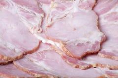 Carne del prosciutto Immagini Stock