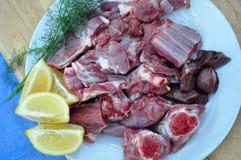 Carne del ` s del niño del ` s de la cabra Imagen de archivo libre de regalías