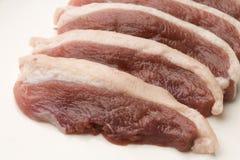 Carne dell'anatra Fotografie Stock Libere da Diritti
