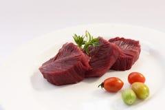 Carne dello struzzo Fotografia Stock