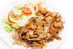 Carne di kebab Fotografia Stock