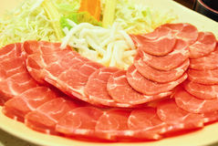 Carne di maiale Immagini Stock Libere da Diritti