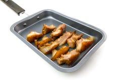 Carne di maiale arrostita Fotografie Stock