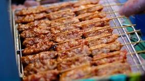 Carne di maiale arrostita Fotografie Stock Libere da Diritti