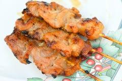 Carne di maiale arrostita col barbecue Immagine Stock