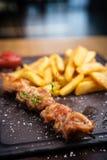 Carne di maiale arrostita del barbecue Immagini Stock