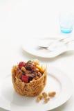 Carne di maiale con salsa 2 Fotografie Stock