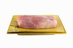 Carne di maiale cruda immagine stock libera da diritti