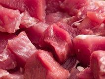 Carne di maiale cruda Fotografie Stock