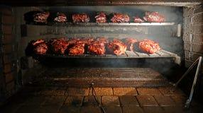 Carne di maiale del BBQ Immagini Stock