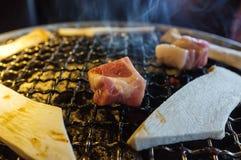 Carne di maiale del Coreano del barbecue Fotografia Stock