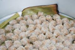 Carne di maiale del sagù del dessert della Tailandia Immagini Stock Libere da Diritti