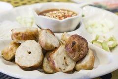 Carne di maiale di Nam Nuang Vietnamese Food Fotografia Stock