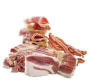 Carne di maiale e bacon Immagini Stock Libere da Diritti