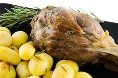 Carne di maiale e patata immagine stock libera da diritti