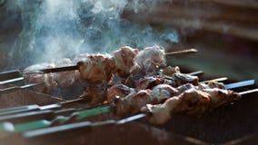 Carne di maiale fritta Immagini Stock
