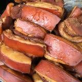 Carne di maiale grassa Fotografia Stock Libera da Diritti