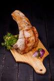 Carne di maiale per la cena Fotografie Stock