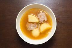 Carne di maiale Rib Soup Immagine Stock Libera da Diritti