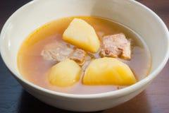 Carne di maiale Rib Soup Fotografie Stock Libere da Diritti