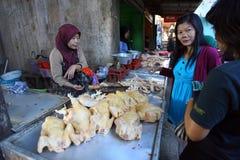 Carne di pollo Fotografia Stock Libera da Diritti