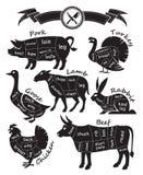 Carne di taglio Fotografia Stock