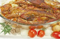 Carne do assado Fotografia de Stock