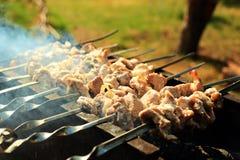 Carne do BBQ imagem de stock
