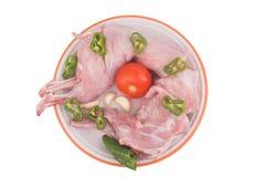 Carne do coelho Fotos de Stock Royalty Free